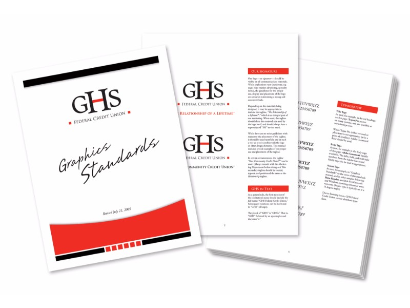 GHS Credit Union Branding