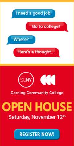 Corning Community College Digital Ads