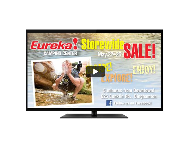 Eureka Camping Center TV