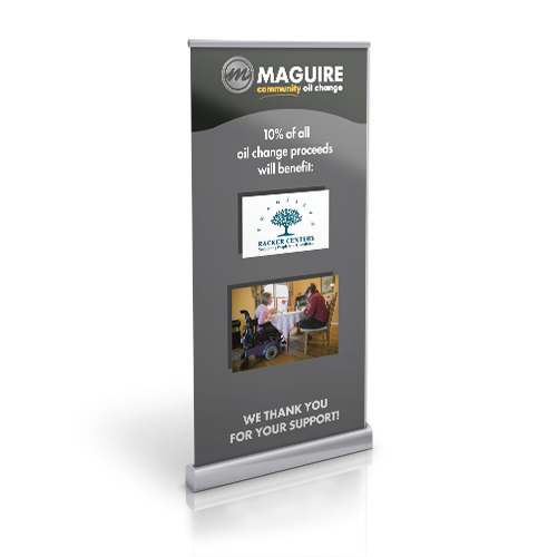 Maguire Community Oil Change Collateral