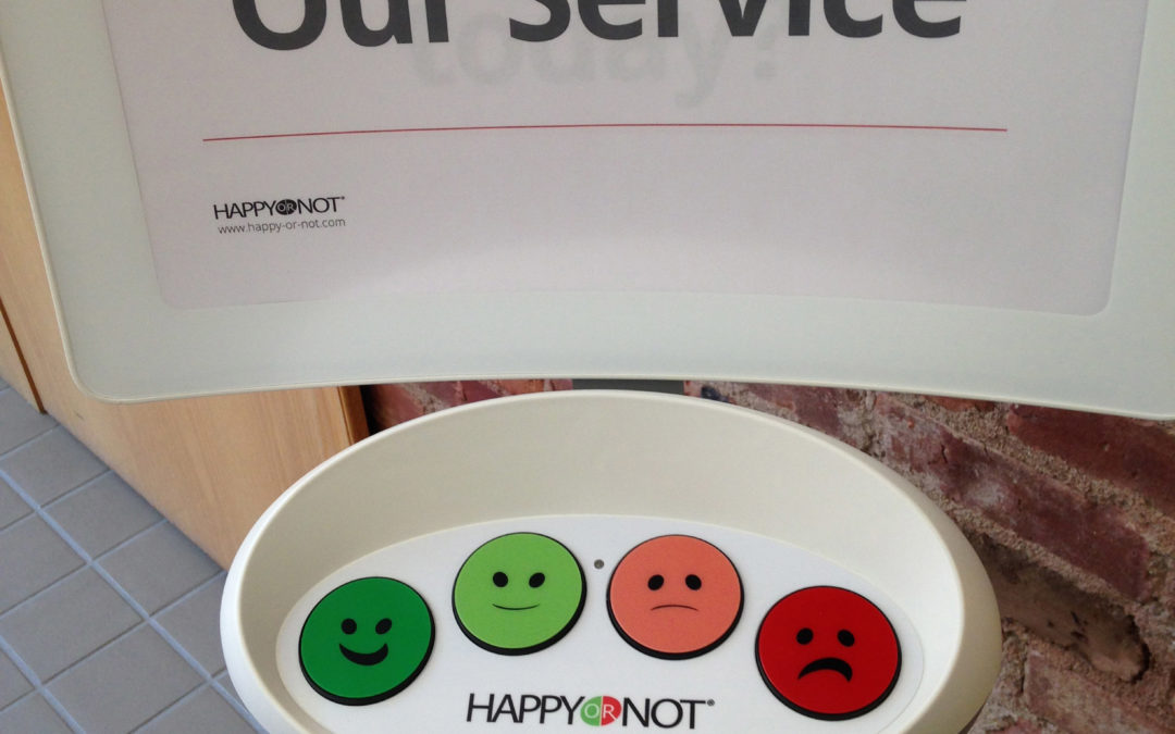 The suggestion box goes digital: Whack a mole or share a smile
